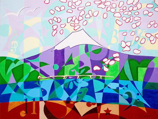 Mt. Fuji 3776 Spring