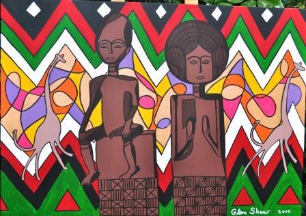 African Sculpture 2 - Couple