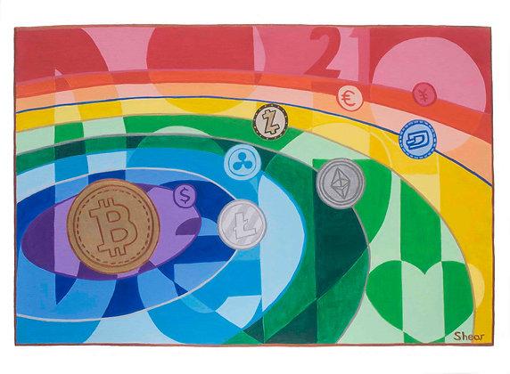 Rainbow Crypto Solar System 21