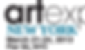 Art Expo New York logo for exhibit featuring artwork of Glen Shear