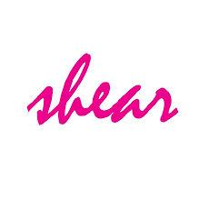 Pink mistral logo for Pop Artist Glen Shear.