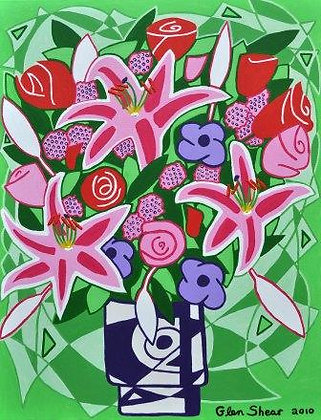 Pink Lillies 70 Afuch
