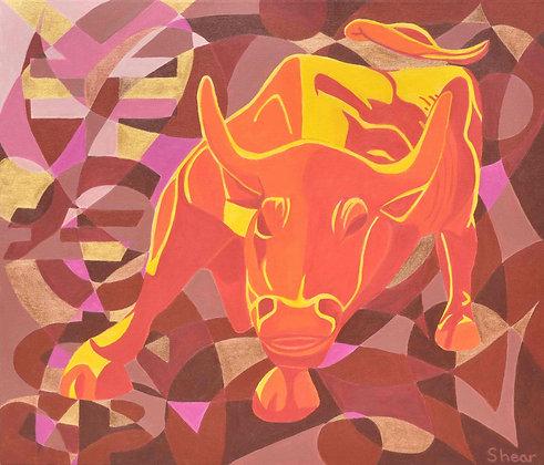 Sunny Raging Bull of Wall Street