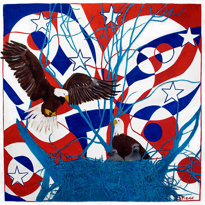 Eagles Nest - Red, White & Blue