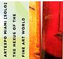 Art Expo Miami logo for exhibit featuring artwork of Glen Shear