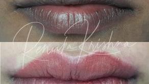 Is Lip Blush Tattoo Painful? RKBTA Lip Tattoo Delhi