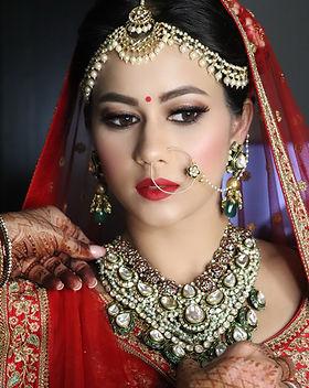 Bridal Makeup Artist Renuka Krishna RKBT