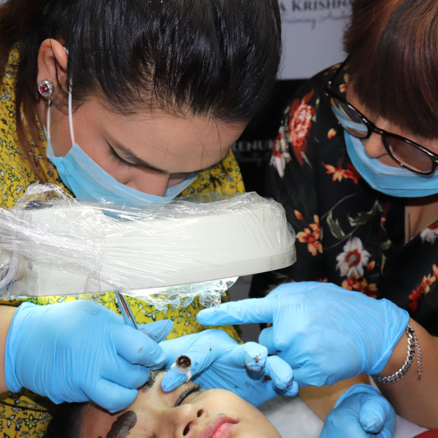 Eyebrow Microblading Course Training Ind