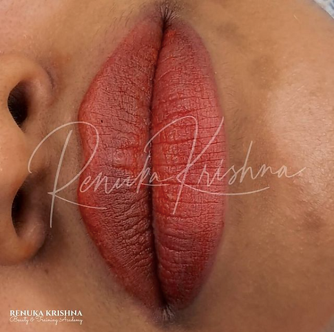 Lip Blush Tattoo Training Renuka Krishna