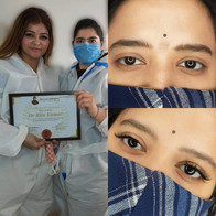 Eyebrow microblading training delhi indi