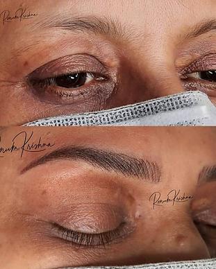 Combination Eyebrows renuka krishna indi