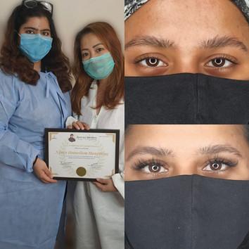 Eyelash Extensions Training Delhi, Chand