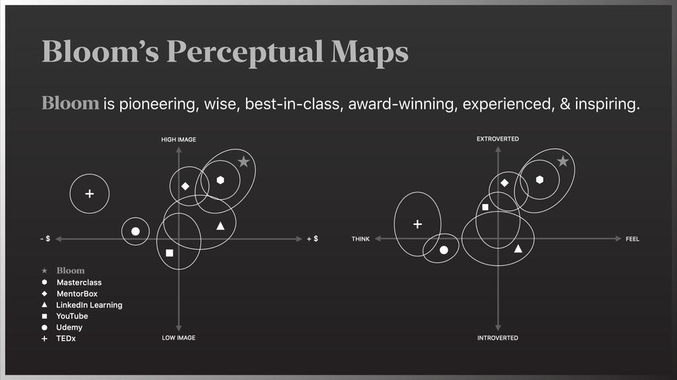 Bloom Perceptual Maps