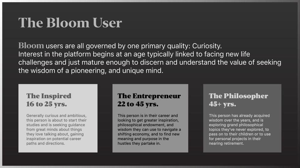 Bloom Users