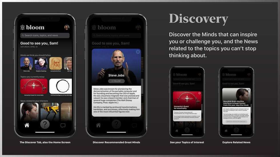 Discover Tab