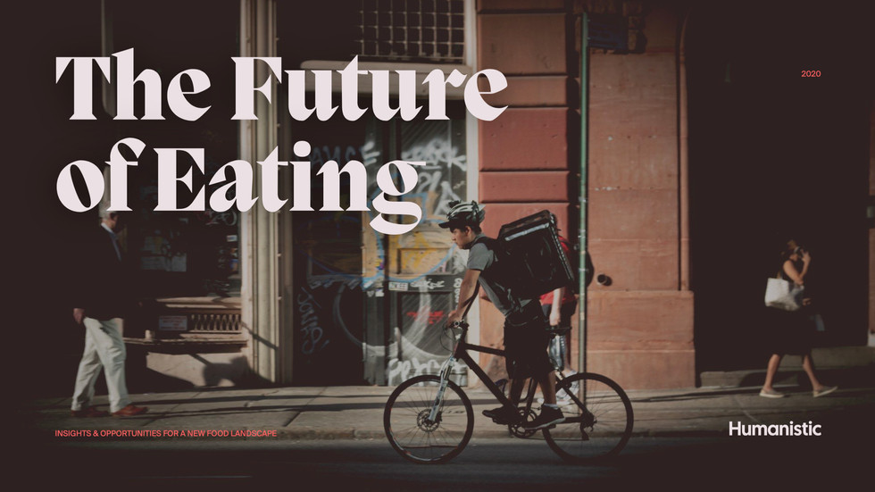 Future of Eating