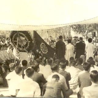 차남 김범일과 장녀 김활란의 합동결혼식(1966년)