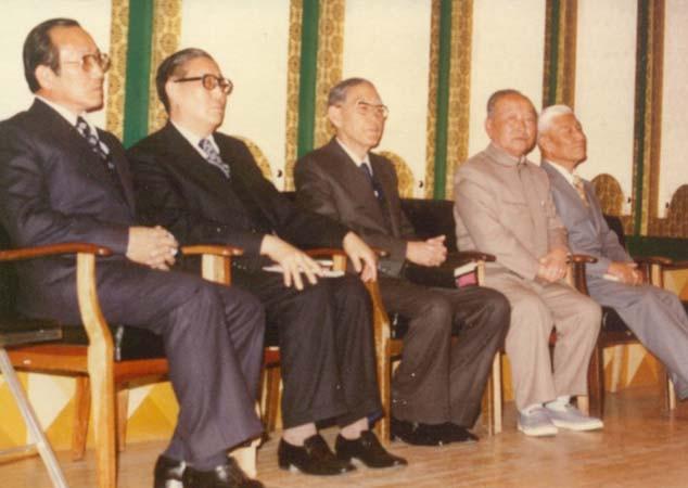 일가 선생 박사학위 축하식에 참석한 교계 인사들(1978년)