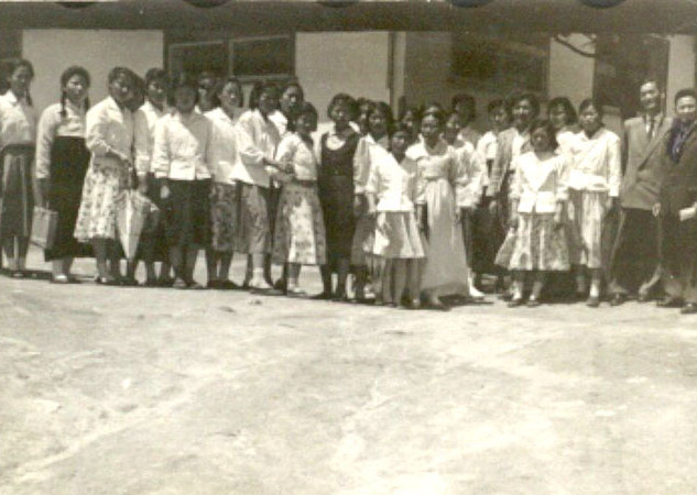 제1가나안농군학교 내에 양재학원(1959년)