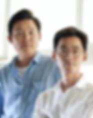 권민수(우), 박영민(좌)