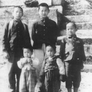남양주의 봉안 이상촌에서 자녀들