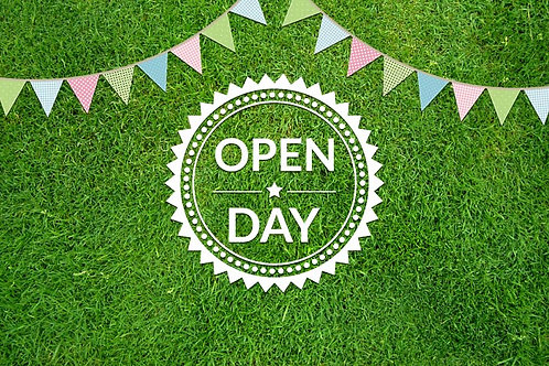 Open Day Pitch - 7th Aug