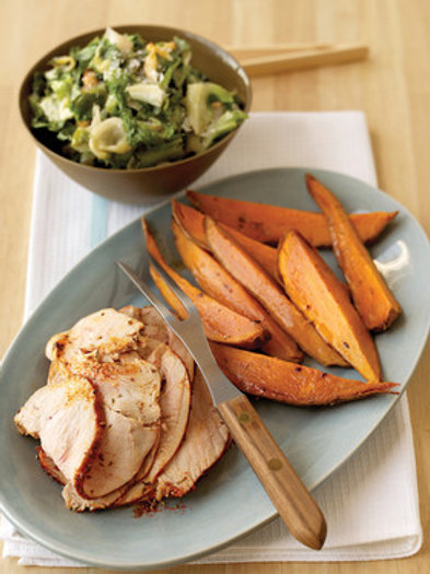 Turkey Breast + Sweet Potato