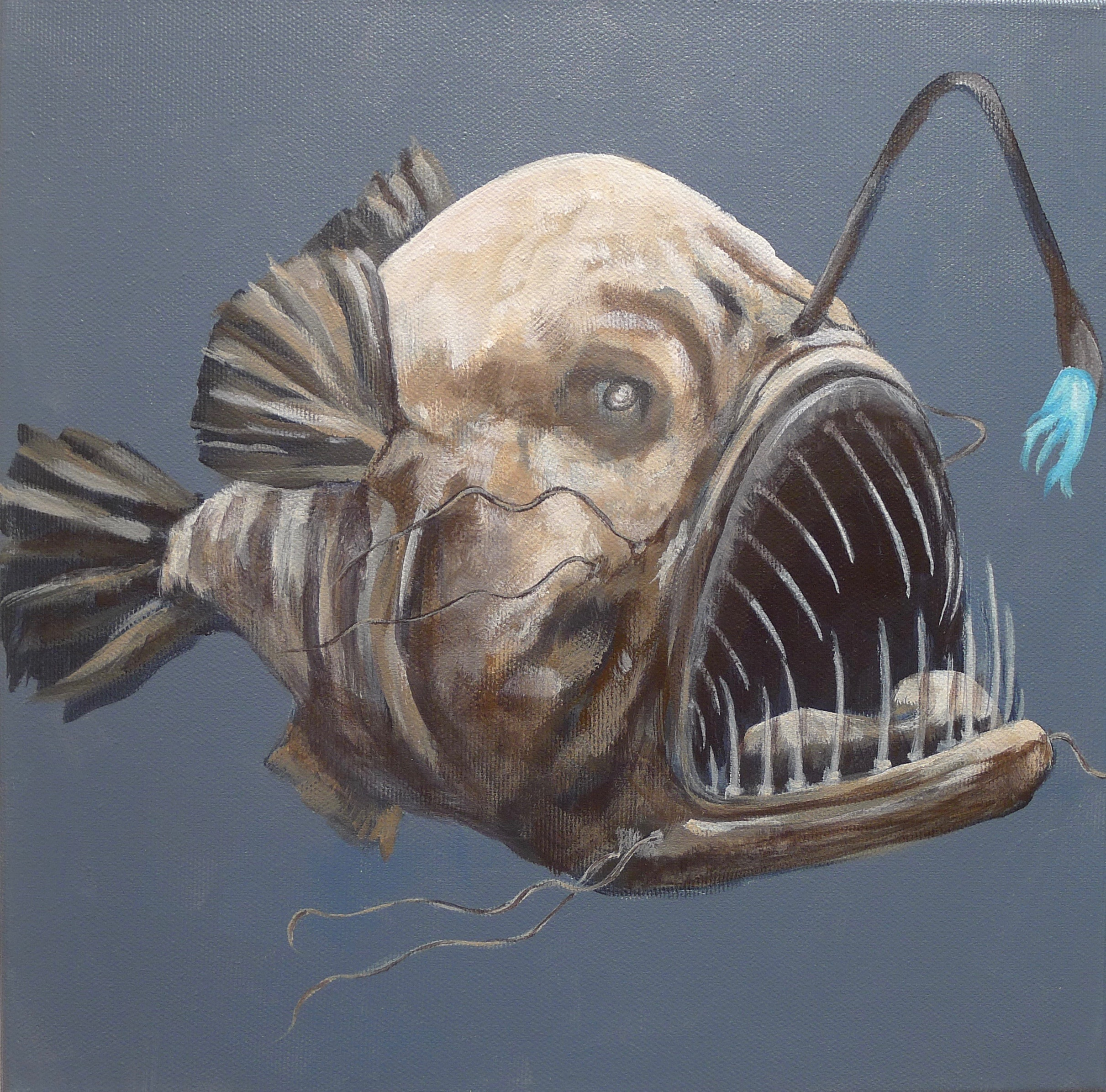 The Deepsea Angler Fish