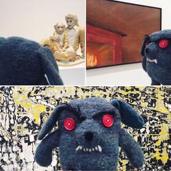 Grump and Art