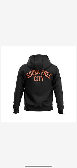 SFC Sucka Free City Hoodie Black
