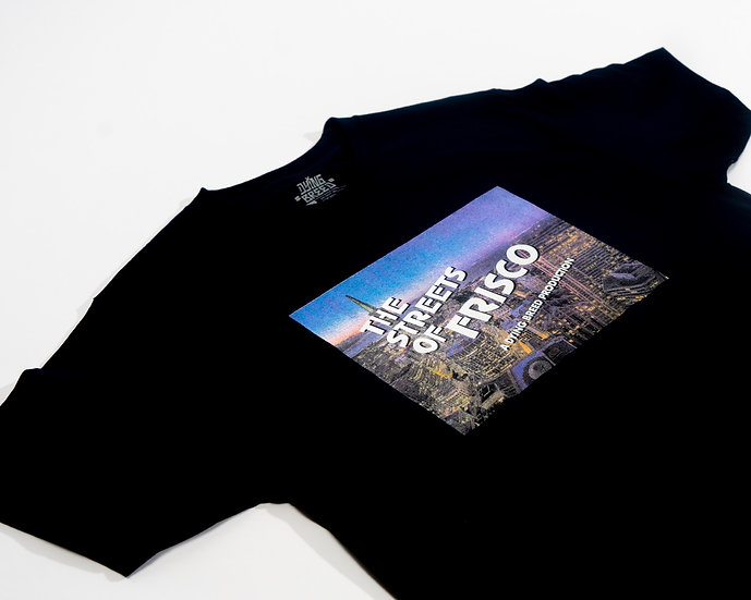 The Streets Of Frisco Navy Blue Tee
