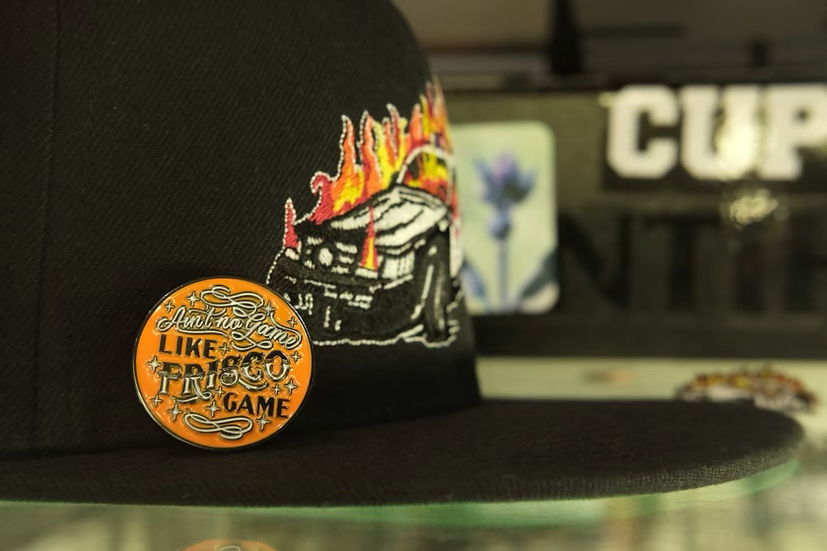 Ain't No Game Like Frisco Game Pin