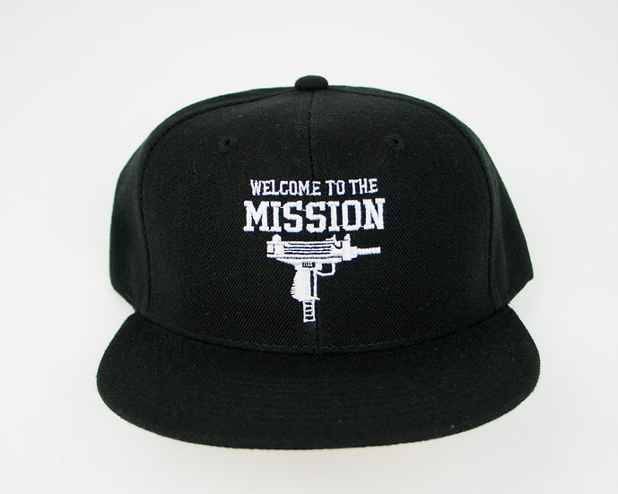 Welcome To The Mission Uzi Snapback