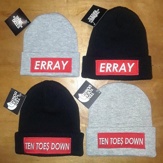 ERRAY / 10TD BEENIES