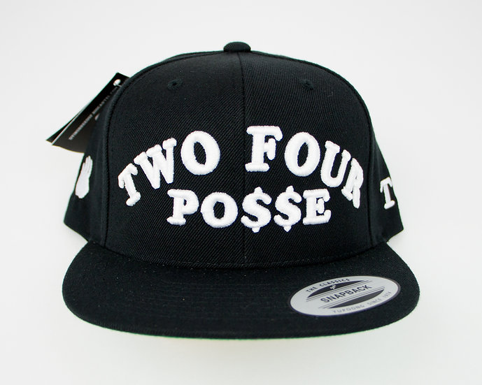 TWO FOUR POSSE SNAPBACK