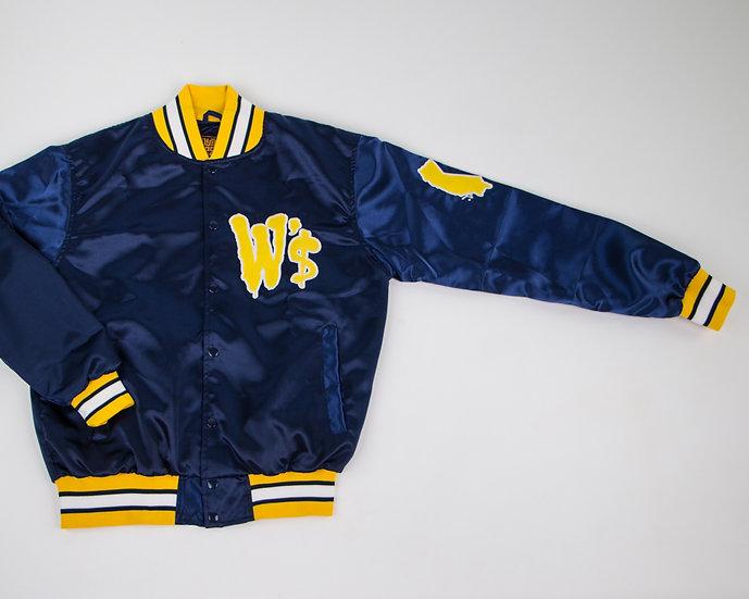 Blue Warriors Satin Jacket