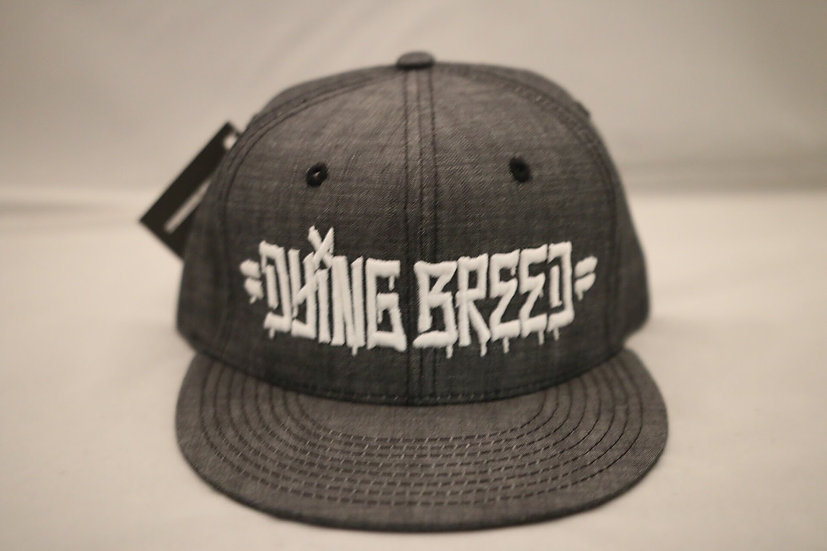 Dying Breed Snapback (Dark Grey)