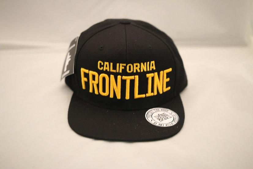 Cali. Frontline Snapback (Black)