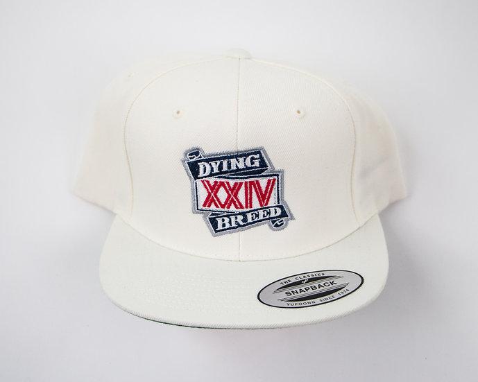 White XXIV Snapback