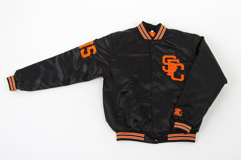 Sucka Free City Black Satin Jacket