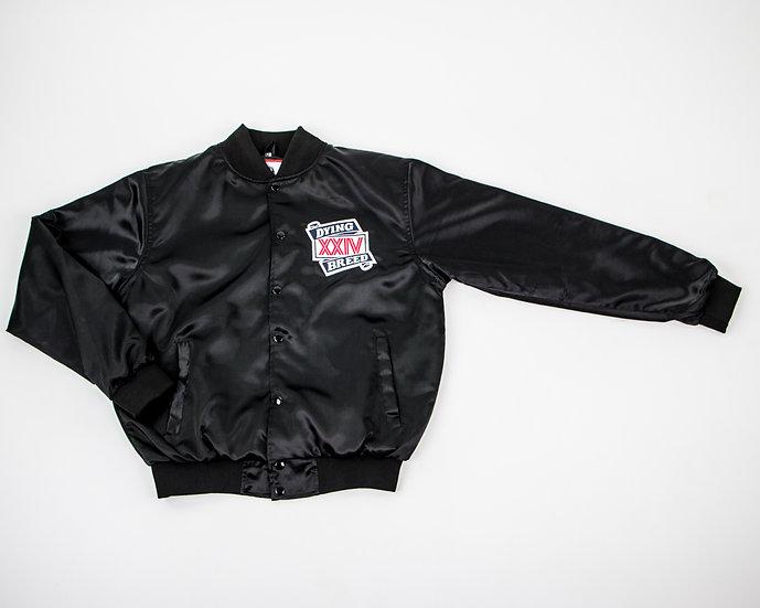 Dying Breed Black XXIV Satin Jacket