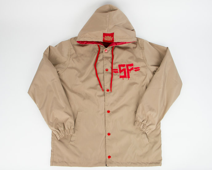 Mission District Hoodie Coach Jacket