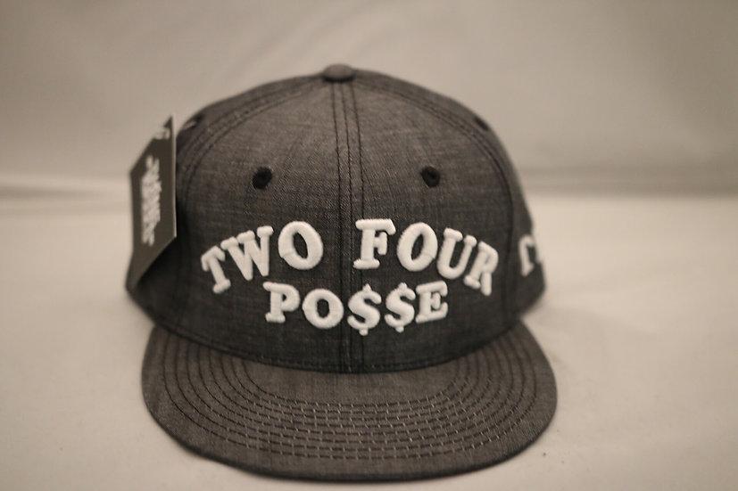 Two Four Posse Snapback (Grey)