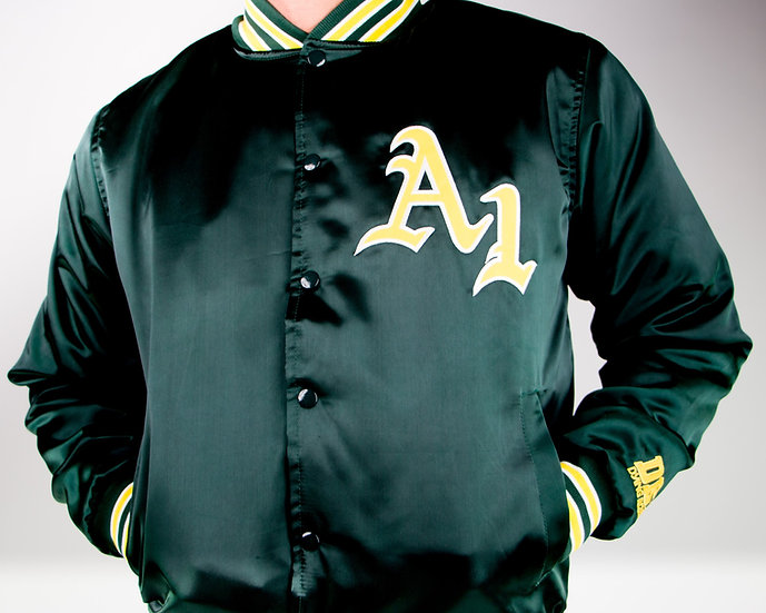 A1 Athletics Satin Starter Jacket