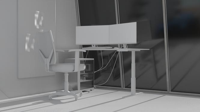Apartment Model Render