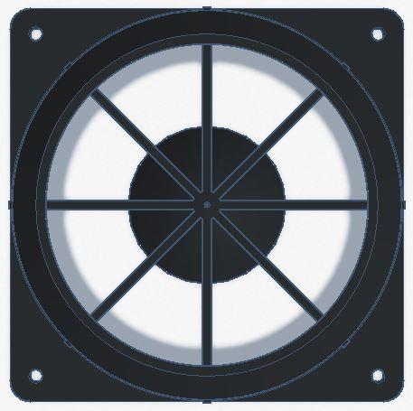 SRS Airflow Straightener for Power Wind