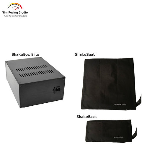 Elite SRS ShakeCombo - No Pedals (includes SRS License for Bass Shaker)