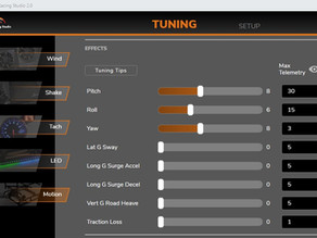 Motion too weak? too strong?  Motion tuning Guide
