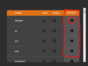 Import / Export Tuning Profiles