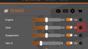 Premium Shaking / Haptic Feedback Features